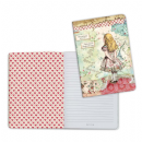 Stamperia - Lined Notebook A5 - Alice